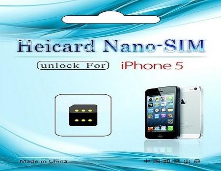 sim ghép heicard unlock iphone 5
